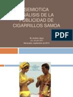 Analisis de La Publicidad de Cigarros