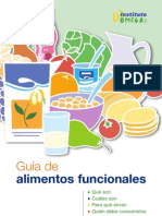 Guia alimentos funcionales Omega3