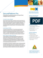 NGX SecurePlatform Pro Datasheet