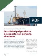 Exportaciones Oro