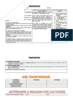Formato Planeacion Mensual de Actividades