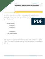 Estructuras Union Enum Lenguaje C