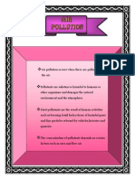 Air Pollution Science Folio -by Hanisah