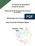 Participación Política de Los Jóvenes en El Perú Durante El Último Siglo Monografia