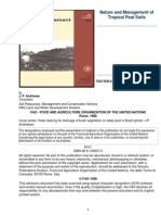 Nature and Management of Tropical Peat Soils