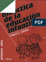 Didactica de La Educacion Infantil