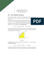 Business52 the Definite Integral