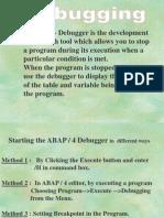 ABAP - Debugger