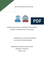 ENSAYO Informatica Educativa en Colombia