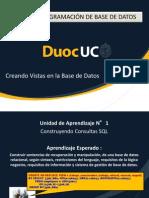Unidad 1 N°5 Creación de Vistas en la Base de Datos