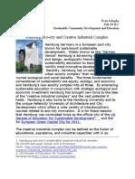 Hamburg Eco City and the Creative Inustrial Co (1)