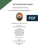 Laboratorio Diseño de Reactors