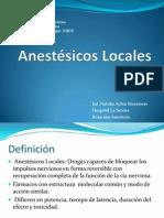 Anestesicos Locales 2003