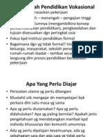 Asas Falsafah Pendidikan Vokasional (2)