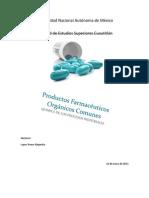 Productos Farmaceuticos Organica III