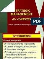 5-Strategic Management Overview
