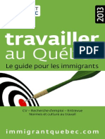 Guide Travailler 2013