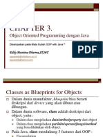 Chapter 3. OOP Pada Java