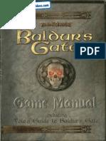 Baldur's Gate I - Forgotten Realms [Manual & Volo's Game Quide]