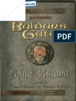 Baldur's Gate I - Forgotten Realms [Manual & Volo's Game Quide]