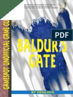 Baldur's Gate I - Forgotten Realms [Game Guide(Gamespot)]