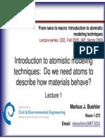 Lecture 1 Nano Macro Buehler