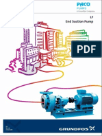 Grundfos-Paco Type End Suction Pump LF Brochure