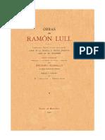 O Livro Dos Mil Provérbios - Ramon Llul
