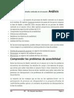 2.- Accesibilidad en El Diseño Centrado en El Usuario Analisis Diseño y Evaluación