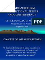 Agrarian Reform Issues Pp