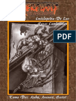 Enciclopedia de Las Razas Cambiantes - Tomo 2 - Ajaba, Ananasi, Bastet