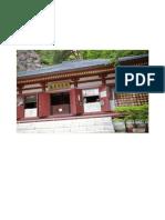 Horaiji Temple on Mt Horaiji(鳳来寺 東照宮)  by Paco Barberá