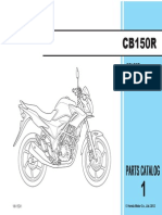 Parts Catalog CB150R