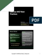 Wcf Best Practices