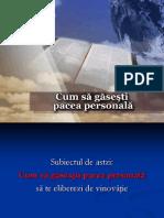 05-Cum Sa Gasesti Pacea Personala