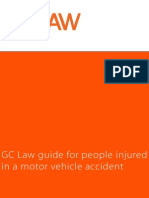 Gc Law Guide for People Injured in a Motor Vehicle Accident