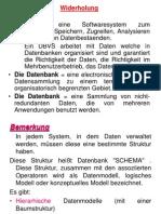 Kurs 2 - Datenbankmodellen
