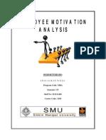 Employee Motivation Analysis