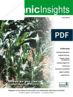 Organic Insights June 2012