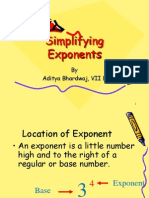 Exponent and Power