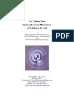 Turbidity Tube