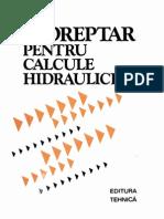 Indreptar Pentru Calcule Hidraulice