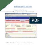 Deficiency Report 2013-2014-User Manual