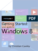 Getting Started Your Guide to Windows 8
