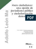 Voces Ciudadanas (Adolfo Leon Maya)