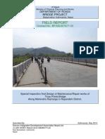 Tinau bridge maintenance