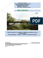 Field Design Report-Tinthana Bridge