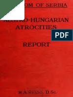 AUSTRO-HUNGARIAN ATROCITIES REPORT
