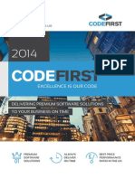 Codefirst Brochure 2014