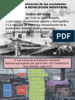 2012. Primer Bloque La Revolución Industrial